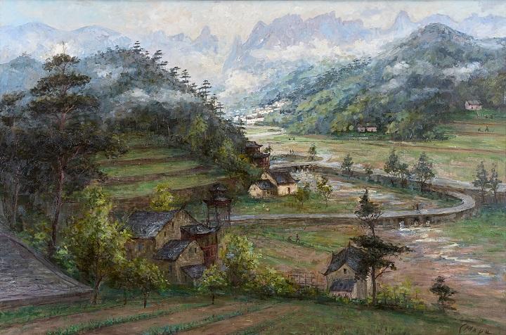 Марк Смирнов_Деревушка в райских горах